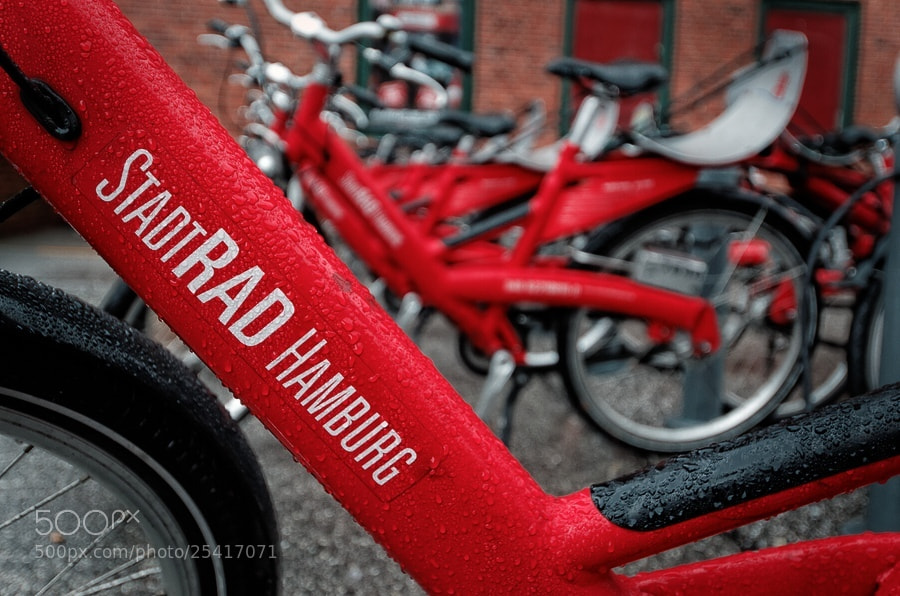 Photograph Hamburg Citybike by Michael Nau on 500px