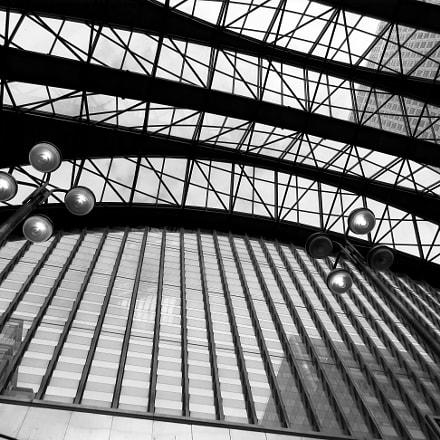 Canary Wharf, Greater London, Canon IXUS 275 HS