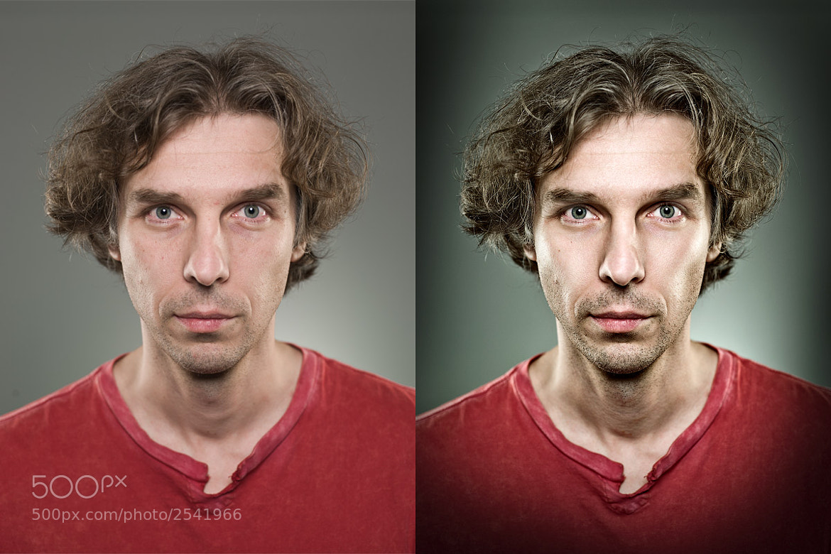 Photograph Portrait. Before and After by Genia Larionova on 500px