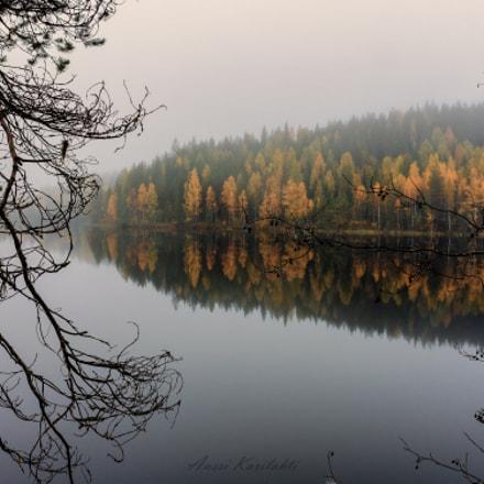 Dusk reflection, Nikon COOLPIX A