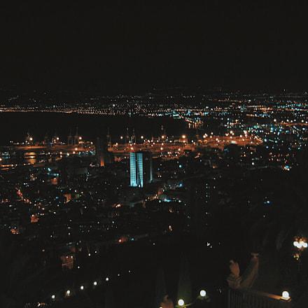 Haifa night city , Canon POWERSHOT A560