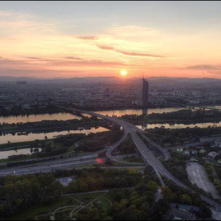 Sunset in Vienna, Nikon D810, AF-S Zoom-Nikkor 24-70mm f/2.8G ED