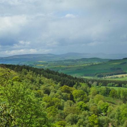 View from Brizlee Hill, Panasonic DMC-TZ18