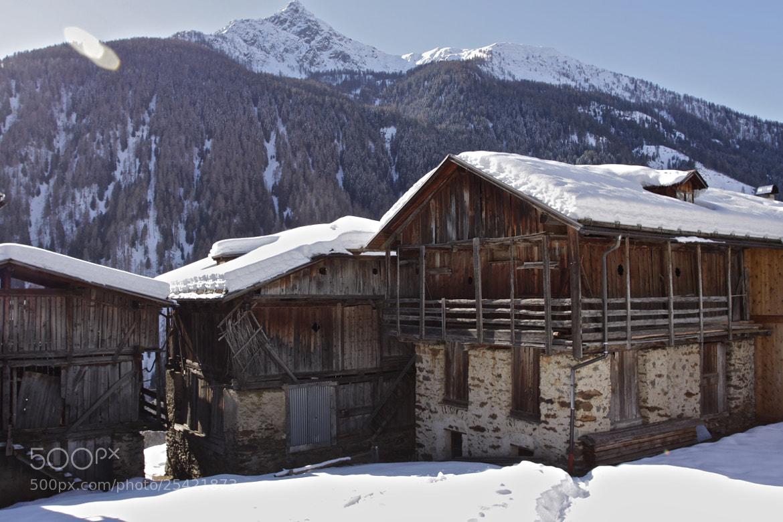 Photograph Alpine chalets by Andrea Alessandro Benvenuti on 500px
