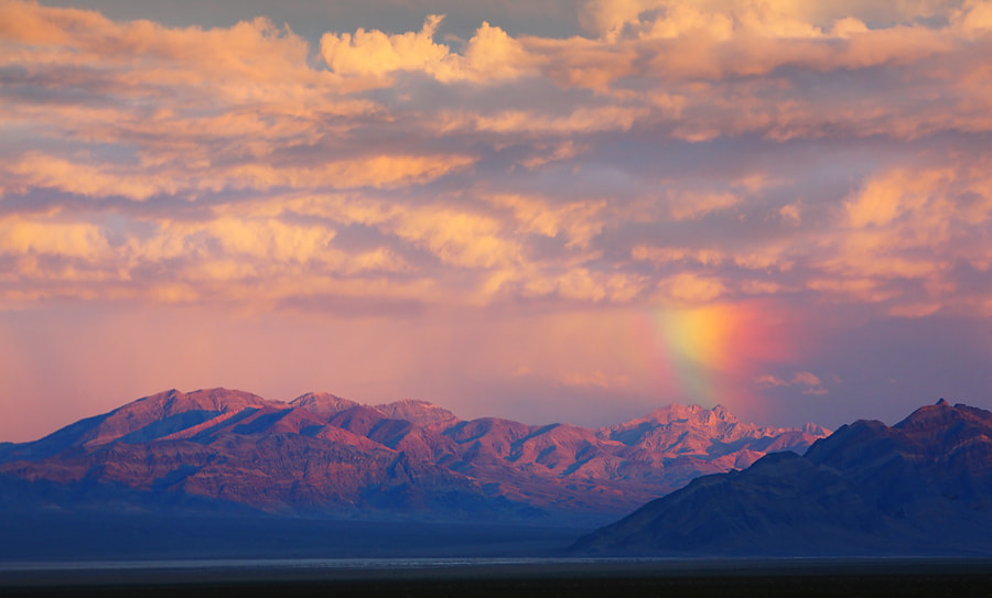 Photograph desert rainbow by donald luo on 500px