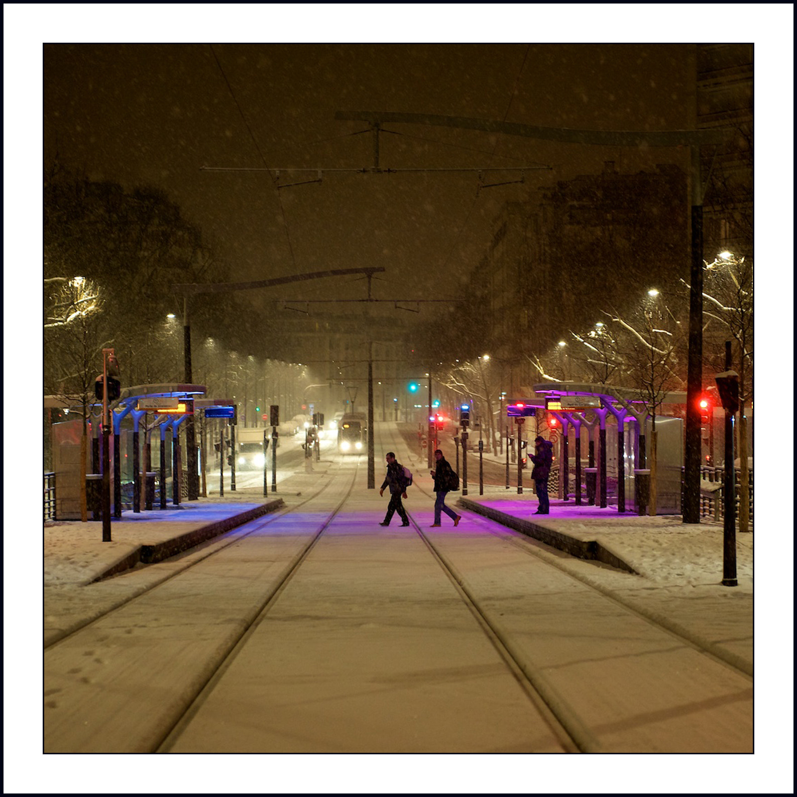 Photograph TRAMWAY EN COULEURS  by Serge  on 500px