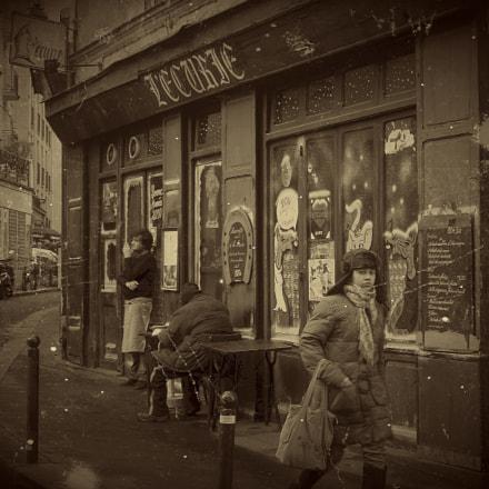 Rue de la Montagne, Fujifilm FinePix J10