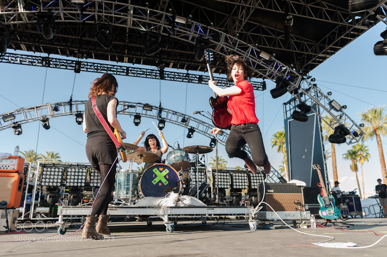 Photograph Wild Flag : Coachella 2012 by Paul R.  Giunta on 500px