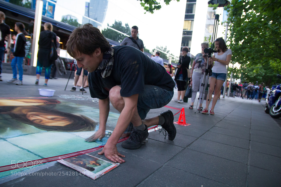 Photograph Melbourne Street Artist by Sean Piper on 500px