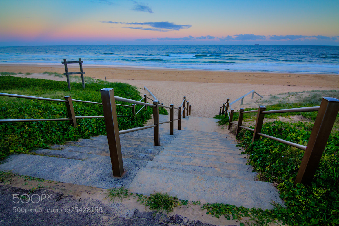 Photograph Shelly Beach Steps by Sean Piper on 500px