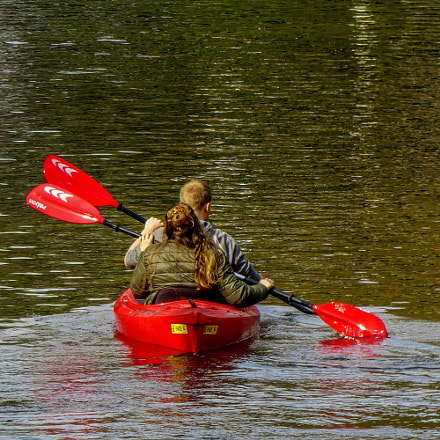 Rowing on a canal, Panasonic DMC-TZ80