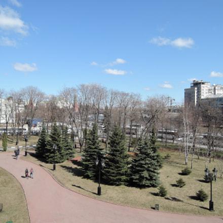 Вид со смотровой площадки возле храма Христа Спасителя, Nikon COOLPIX P340