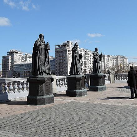 Скульптурный комплекс Патриархи Московские и всея Руси, Nikon COOLPIX P340
