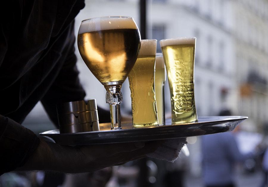 PARIS café by Leon Neige on 500px.com