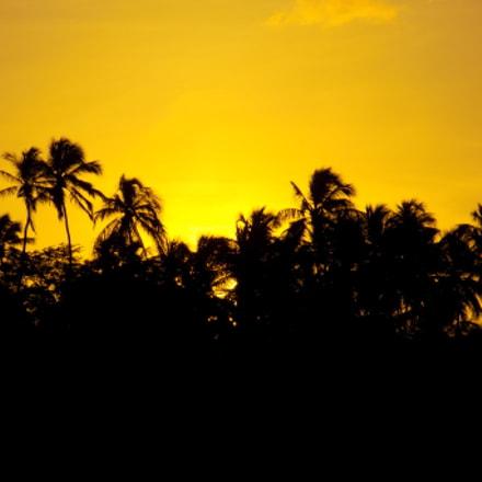 Sunset, Nikon COOLPIX L330