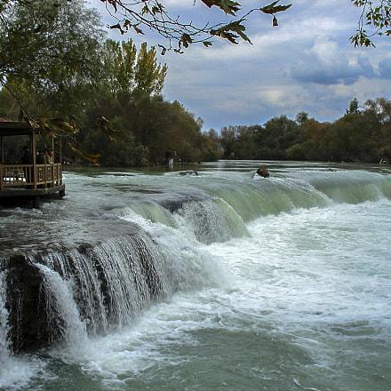 Manavgat waterfall-Turkey, Sony DSC-W40