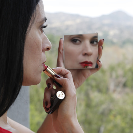 louboutin cosmetics2 lipstick, Canon EOS 5D MARK II, Canon EF 24-70mm f/2.8L