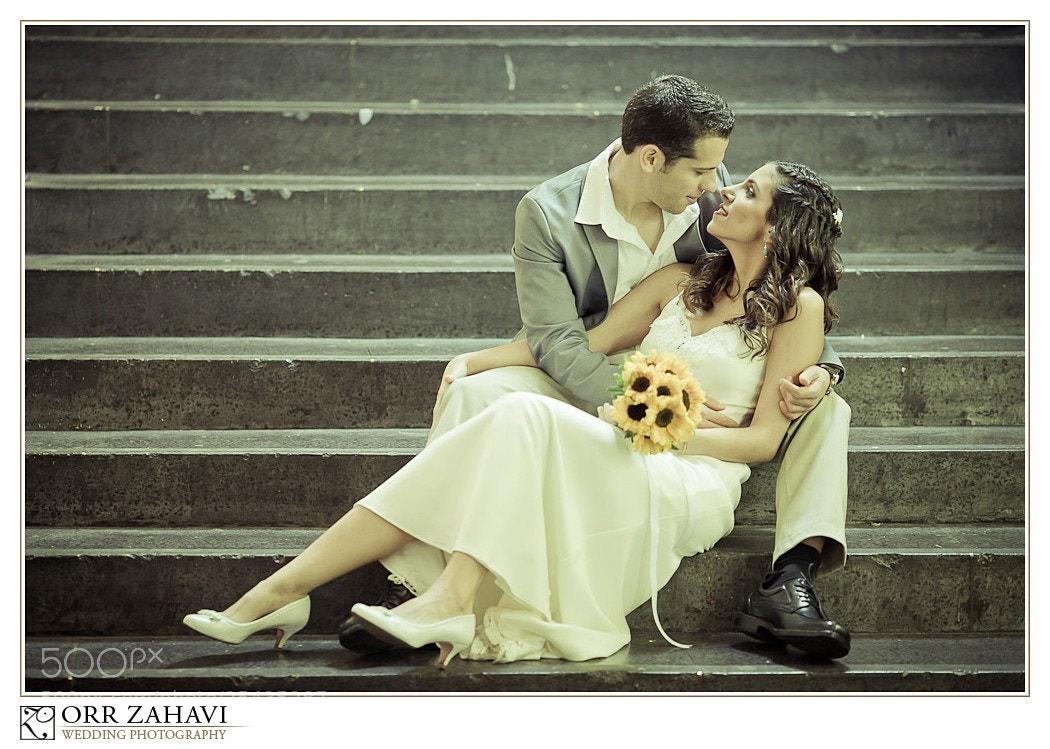 Photograph Bride and groom by Orr Zahavi on 500px