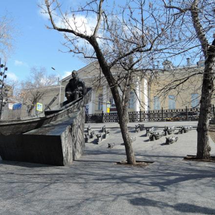 Памятник Михаилу Шолохову, Nikon COOLPIX P340