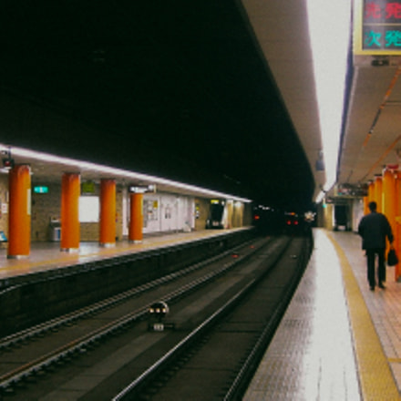 subway station, Sony DSC-M1