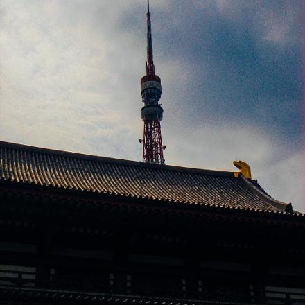 tokyo tower, Sony DSC-M1