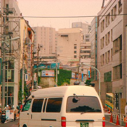 summer shibuya, Sony DSC-M1
