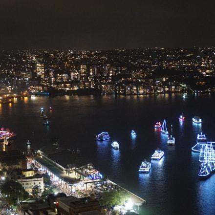 Sydney at Night, Sony ILCE-6000, Sony E 18-50mm F4-5.6