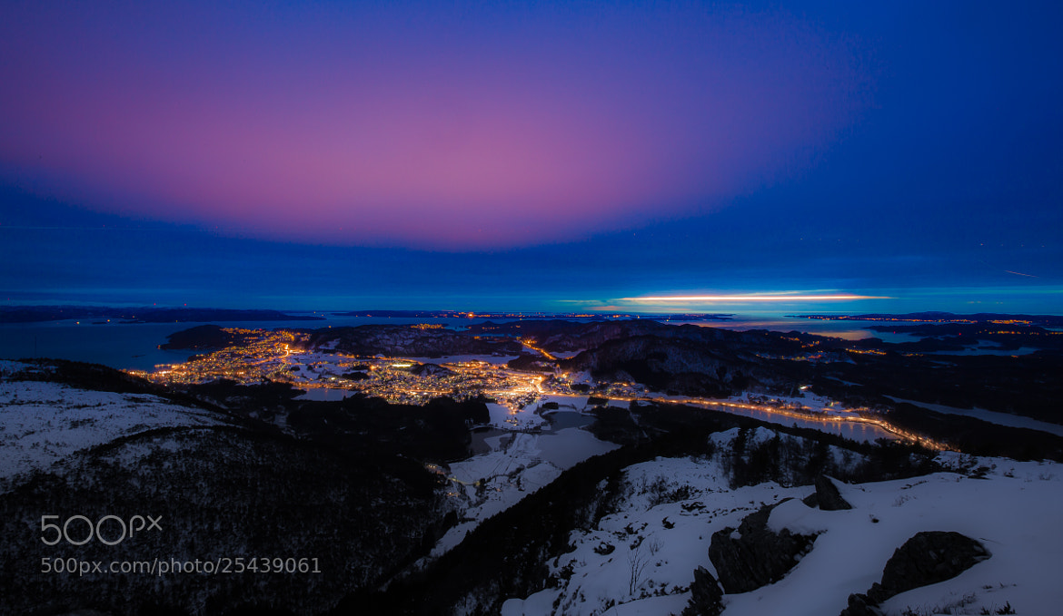 Photograph Os city in the blue light by Bjarte Haugland on 500px