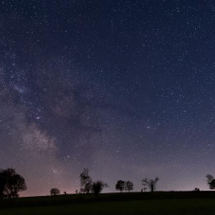 Milky way, Nikon D810, AF-S Nikkor 24mm f/1.8G ED