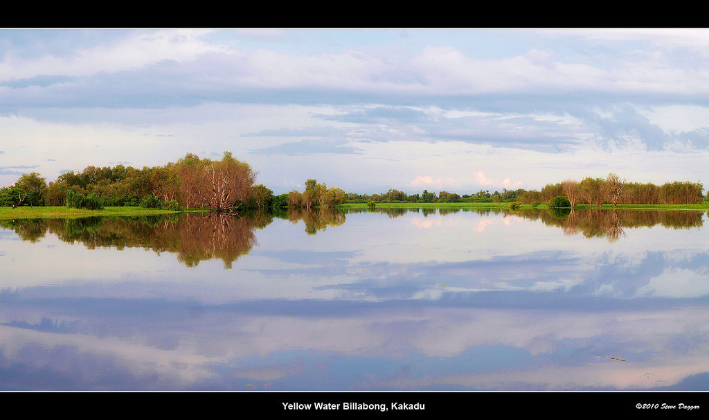 Photograph Yellow Waters Billabong by Steve Daggar on 500px