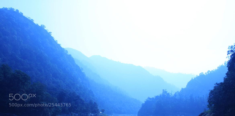 Photograph Bluish Mountains by Saranyan Ravinthirakumaran on 500px