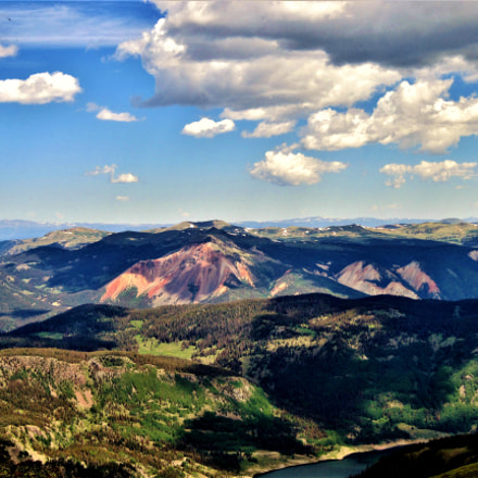 View from Conejos Peak, Canon POWERSHOT A3300 IS