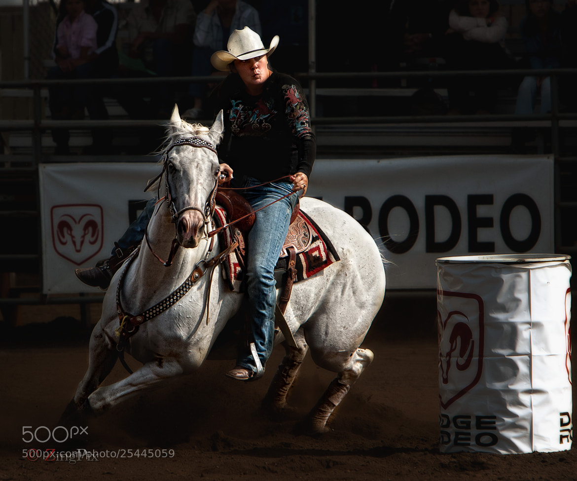 Photograph Barrel Racer 1 by Jeff Jaquish on 500px
