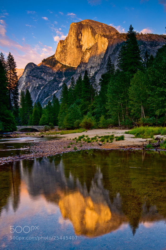Photograph Half Dome Sunset by Joshua Gilpatrick on 500px