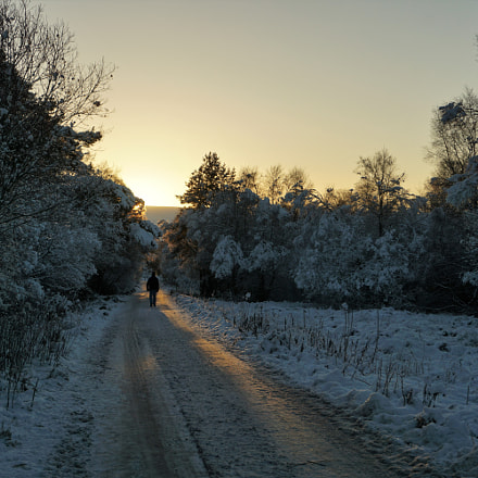 Snowy spotlight, Sony ILCE-6000, Sony E 18-50mm F4-5.6