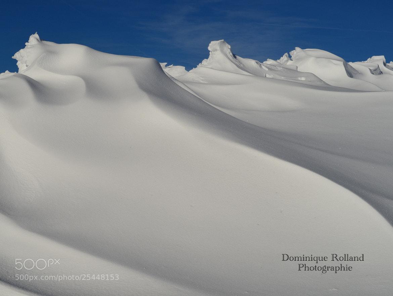 Photograph Mur de neige by Dominique  Rolland  on 500px