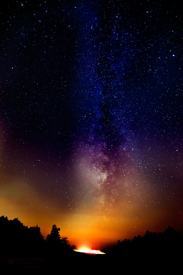Photograph out of space by Dariusz Łakomy on 500px