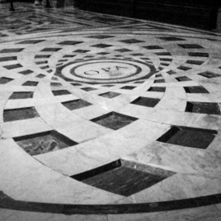Florencia, Santa Croce church, Sony DSC-H9