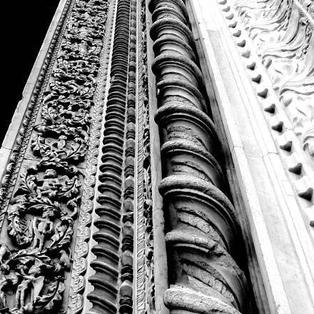 column detail, Sony DSC-H9