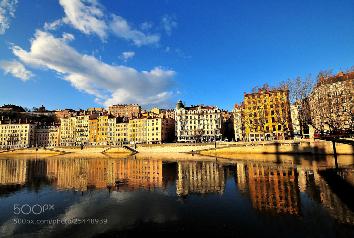 Photograph reflet sur saone by kak tuss on 500px