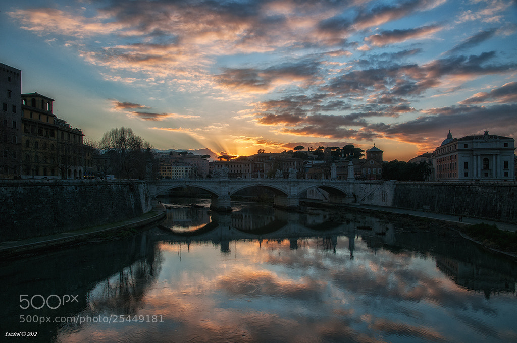 Photograph Sunset in Rome by Sandro L. on 500px