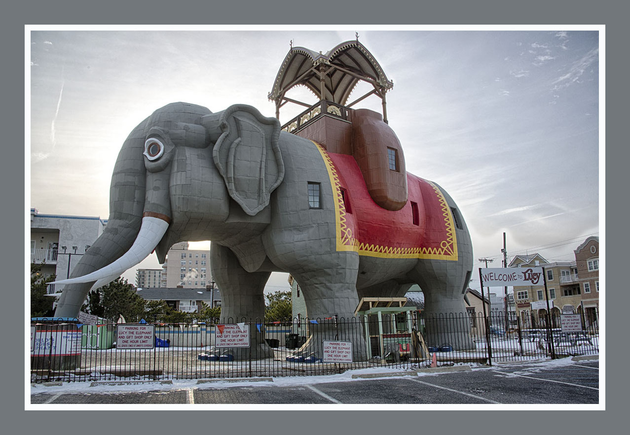 Photograph Lucy the Elephant by Sonny Hamauchi on 500px