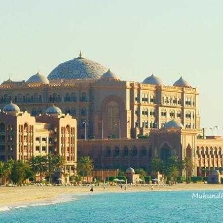 Emirates Palace Hotel, Sony ILCE-7M2, Sony FE 28-70mm F3.5-5.6 OSS
