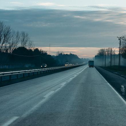 Amanece en la carretera, Canon EOS KISS DIGITAL