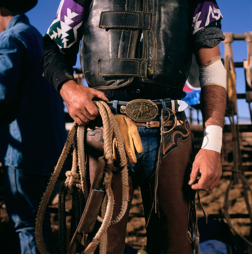 Photograph Rodeo cowboy- Detail by Peter Fisher on 500px