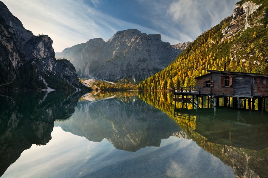 Photograph Lago di Braies III by Daniel Řeřicha on 500px
