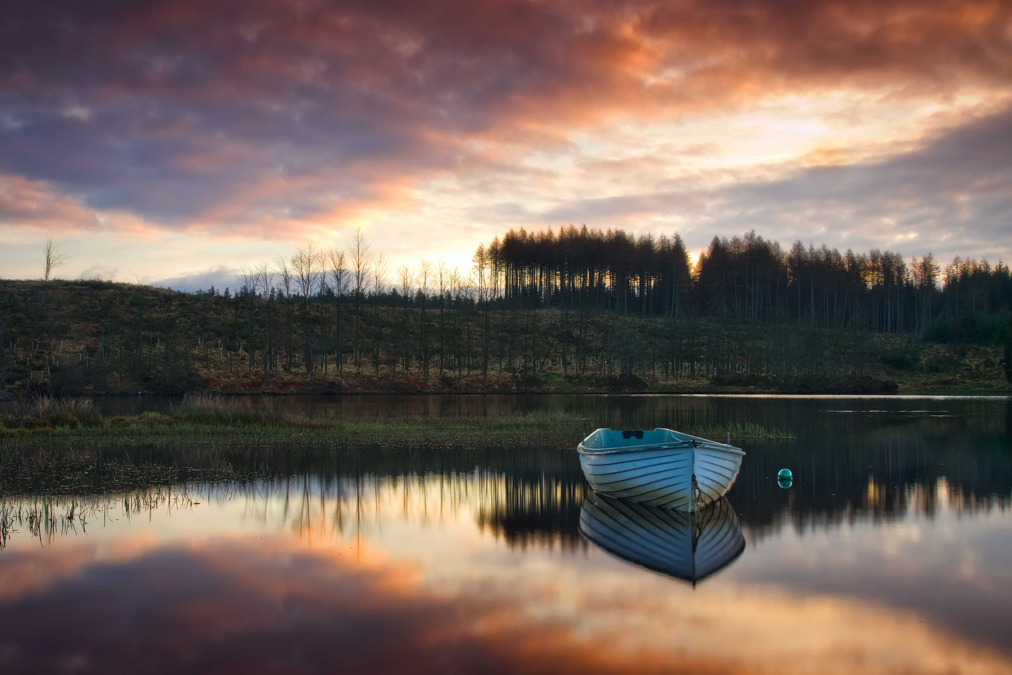 Photograph Loch Rusky early morning... by David Mould on 500px