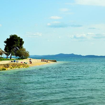 Sea beach at Zadar, Nikon D3200, AF-S DX Nikkor 35mm f/1.8G
