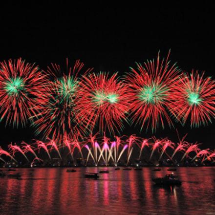 Pro Firework Show EpicFireworks, Nikon D2X, Tokina AT-X 124 AF PRO DX (AF 12-24mm f/4)