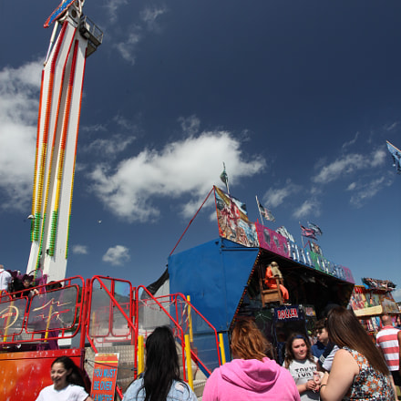 funfair in forth of, Canon EOS 5D MARK II, Canon EF 17-40mm f/4L